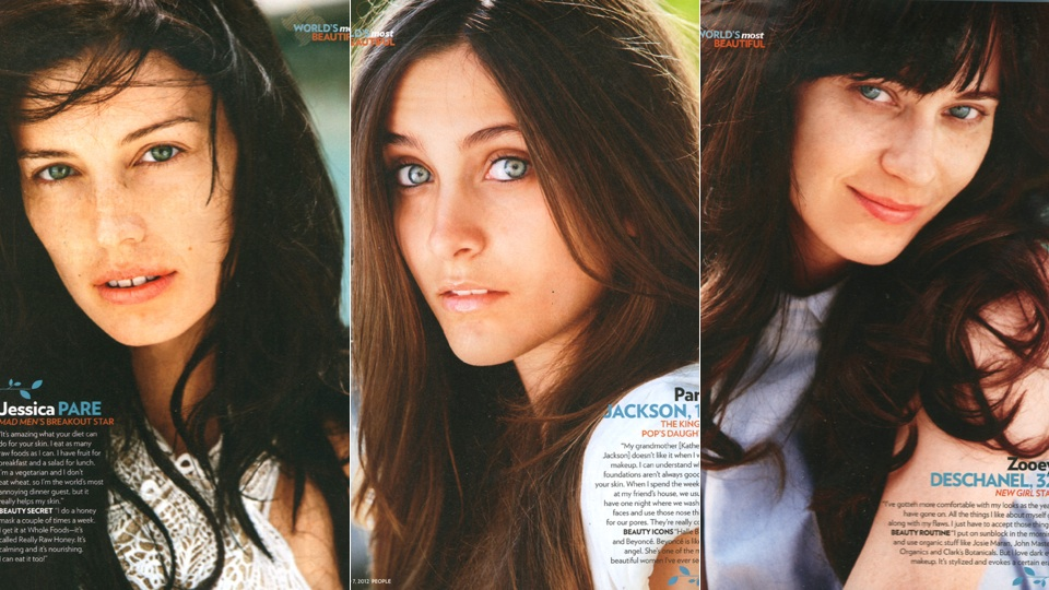 Meanwhile, New York Magazine waded into the celebrity bare-faced beauty trend last week, tracing its origins back to ...