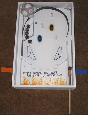 Homemade Portal Pinball Will Teleport Into Your Heart