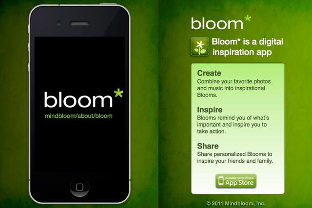Click here to read Bloom for iPhone Keeps You Inspired and Motivated on the Go