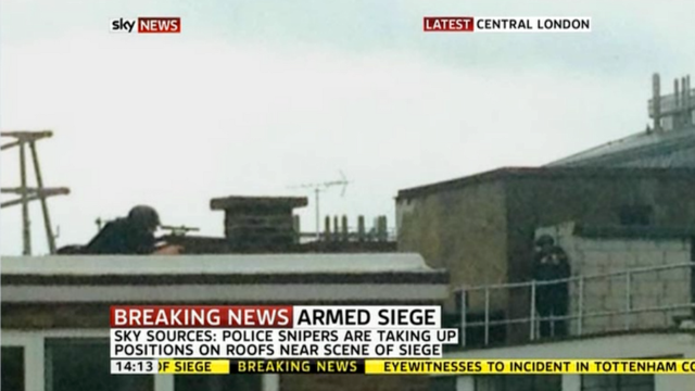 Man Holding Central London Building Captive with Homemade Bomb (Updating)