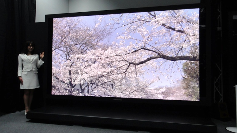 Click here to read Panasonic Steals Crown for Giant 8k TV That Will Melt Your Face