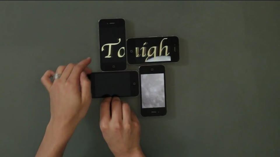 Click here to read This Video Puzzle Made with Four iPhones Makes My Brain Hurt