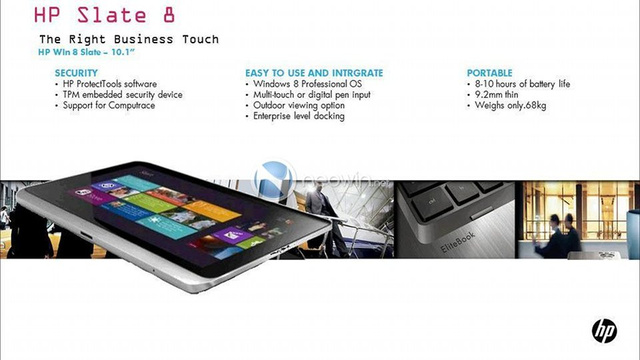 Report: This Could Be HP's First Windows 8 Tablet