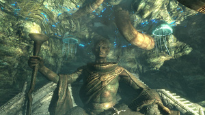 Skyrim Patch Files Hint at an Incoming Snow Elf Prince and Crossbows