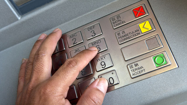 Foil the Latest and Greatest ATM Card Skimming Tech by Covering Your Hand When Entering Your PIN