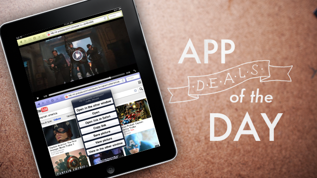 Click here to read Daily App Deals: Get Dual Browser for iPad for Free in Today's App Deals