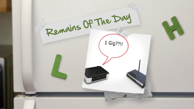 Click here to read Remains of the Day: Say Hello to the First Gigabit Wi-Fi Router