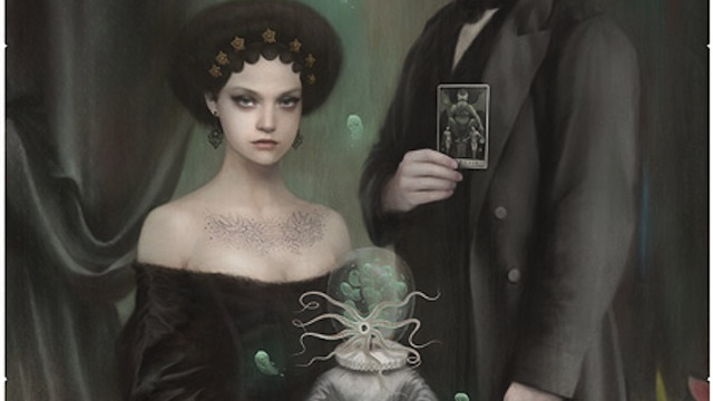 Concept Art Writing Prompt: Family Portrait with a Tentacle-Faced Child