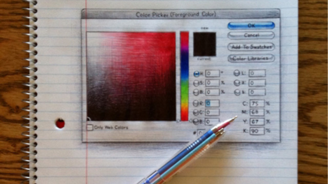 Click here to read If You Are a Photoshop Nerd, You Will Love This Drawing