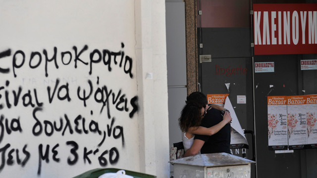 Click here to read Economically Depressed Greece Plagued by Rash of Suicides