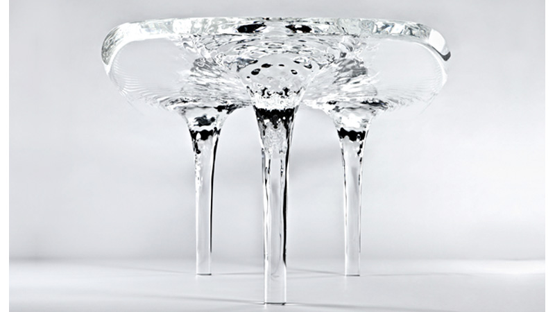 Click here to read Stunning Ice Sculpture Table Will Never Melt Away