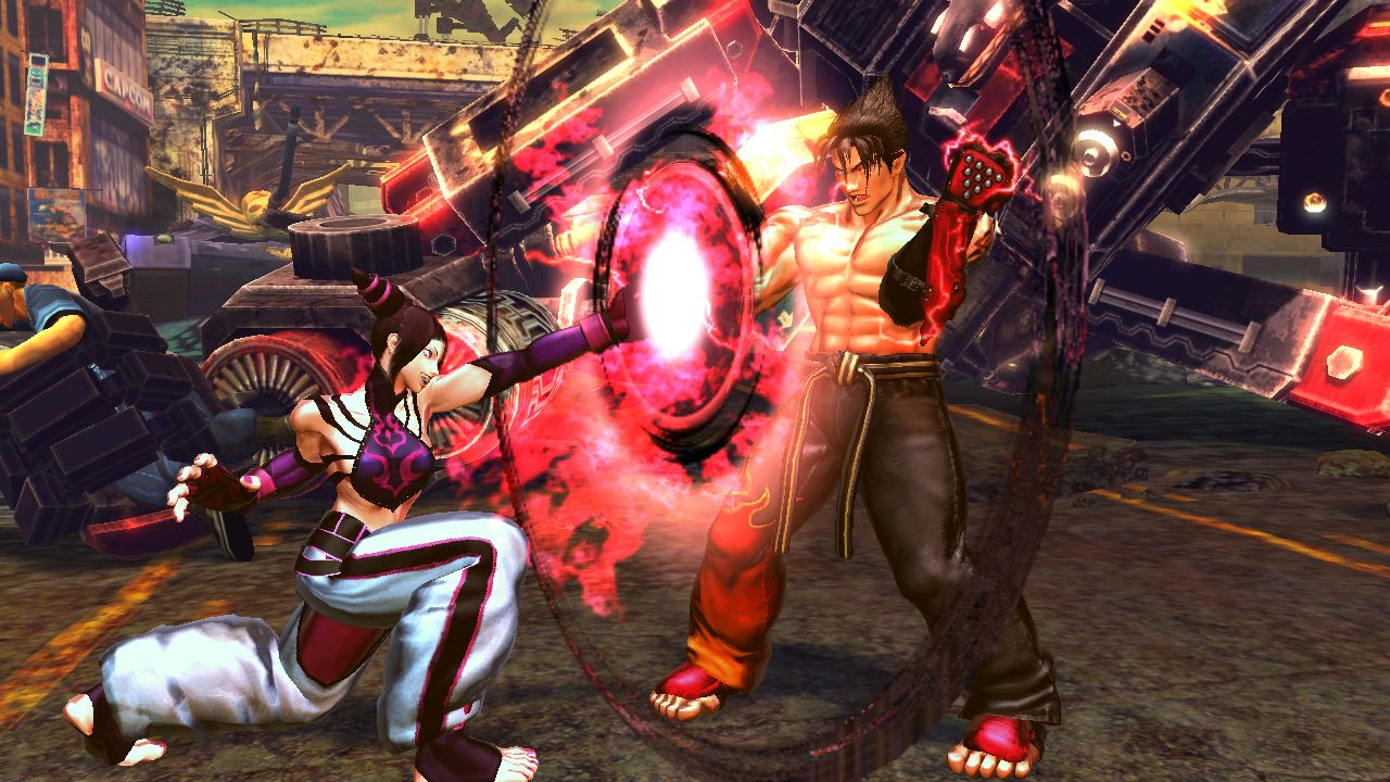 Screens Zimmer 5 angezeig: street fighter x tekken black box