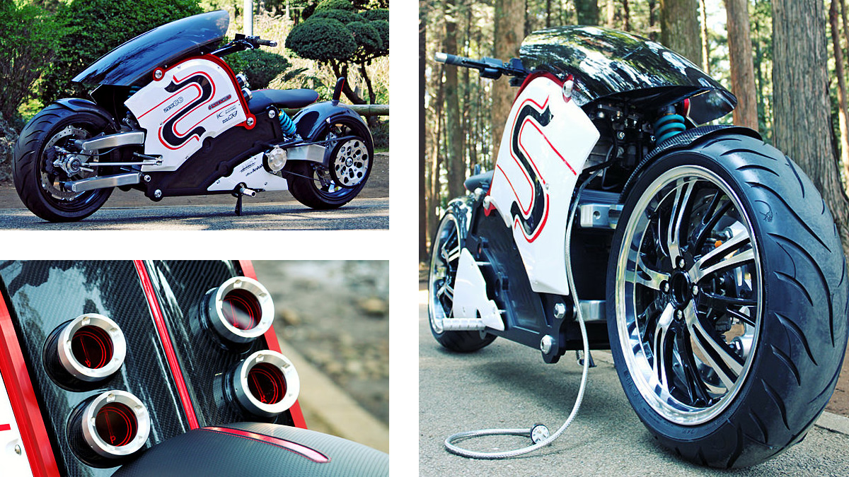 Click here to read This Stunning Electric Bike Is Like a Jet Fighter On Two Wheels