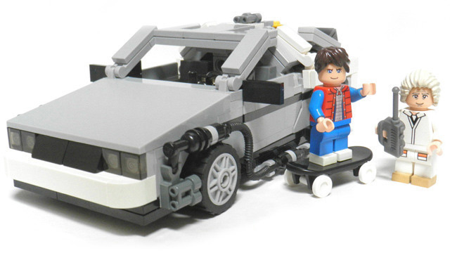 Nerdgasm: The Official Lego Back to the Future Set Is Almost Here!