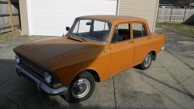 1973 Moskvich/IZh 412 Is An Ultra-Rare Russian Find
