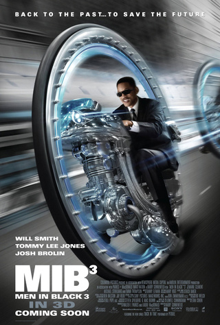 Men in Black 3 International Poster
