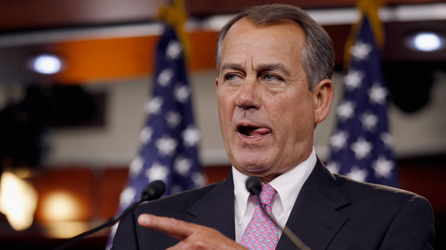 John Boehner Hints That Obama Is a Loser, Then Says He's Just Trying to Help the President Out