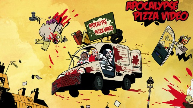 The most amazing zombie apocalypse pizza delivery cartoon we've ever seen!