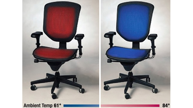 Temperature-Regulating Chairs Bring Peace To Office Thermostat Wars