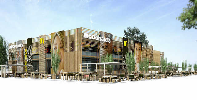 For The Olympics, London Gets The World's Largest McDonald's