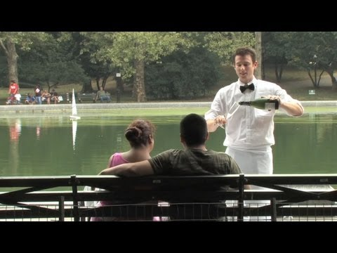 Click here to read Central Park Couple Gets Private Dinner, Show Compliments of Improv Everywhere