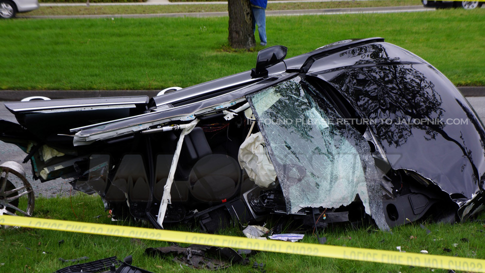 Audi A7 Crash: Exclusive Photos