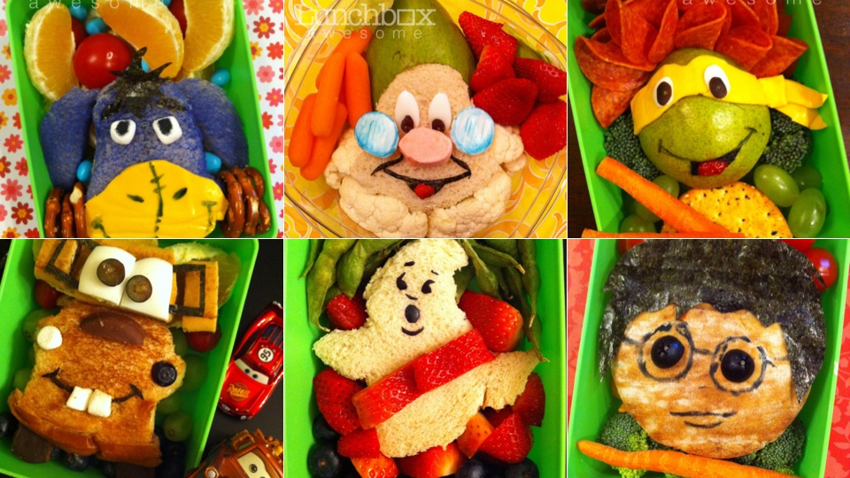 Click here to read Mom of the Year Makes Her Son's Lunch Look Like Awesome Art