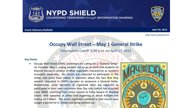 Let The NYPD Be Your Guide to Tomorrow's Big Occupy Wall Street Protest