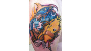 A Final Fantasy Tattoo, in Memory of a Fallen Soldier