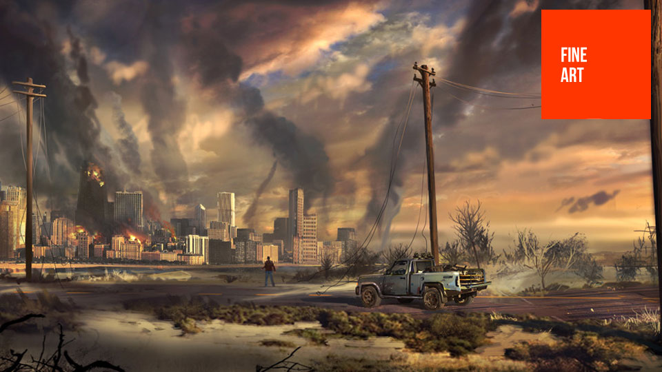 It's The End Of The World As This Concept Art Knows It | Kotaku ...