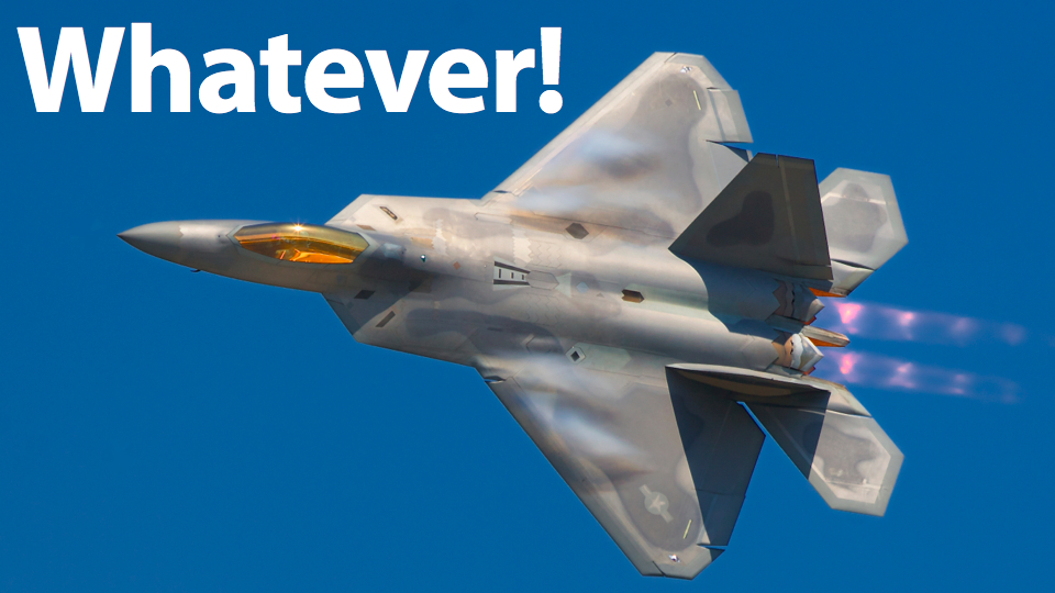 F-22 Pilots Don't Want To Fly The F-22
