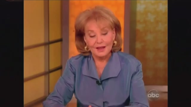 "Click here to read Jimmy Kimmel Makes Fun of How Barbara Walters Says ""Tweet,"" Babs Strikes Back"