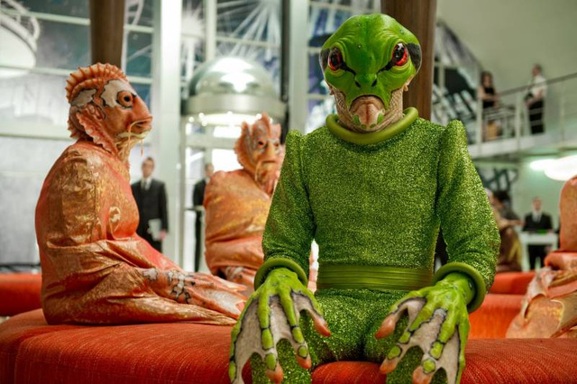 Every one of Rick Baker's aliens from Men In Black III is a work of art