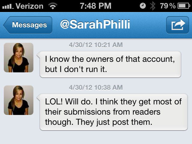 "Sarah Phillips Admits She ""Concealed"" Her Identity, Made ""Poor Choices With Who To Trust"" [UPDATE]"