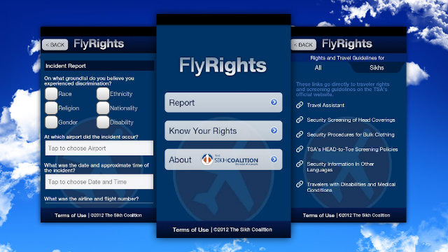 Click here to read FlyRights Reports Profiling and Harassment by Airport Security Right From Your Phone