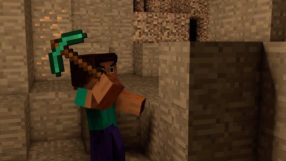 minecraft mining a block how to mine with style