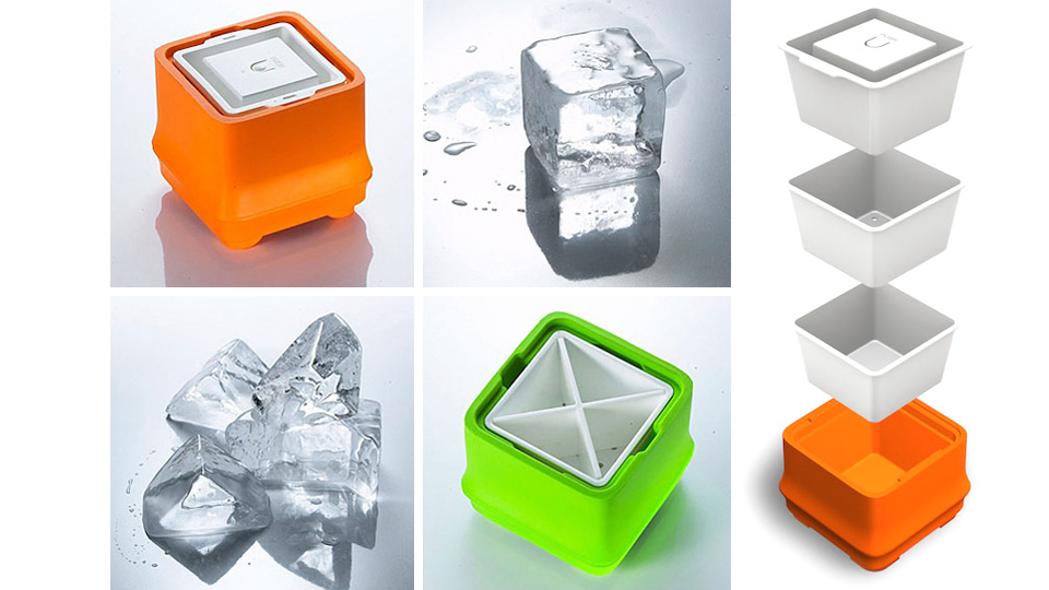 Click here to read Over-Engineered Trays Create Crystal Clear Ice&amp;mdash;One Cube At a Time