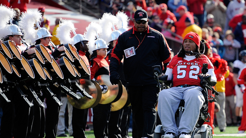 Tampa Bay Bucs Sign Paralyzed Former Rutgers Player In Goodwill Gesture