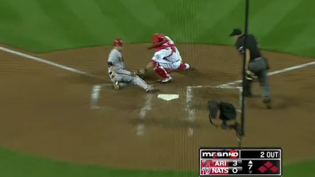 Bryce Harper Shows Off His Arm Cannon, Gets Screwed By Umpire