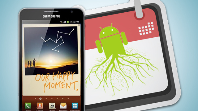 How to Root the Samsung Galaxy Note