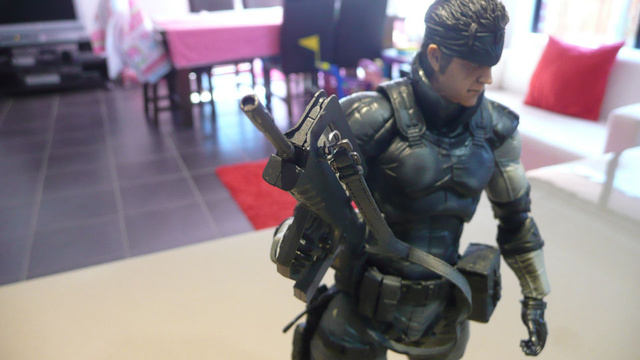 Spending Quality Time With Two Metal Gear Solid Action Figures