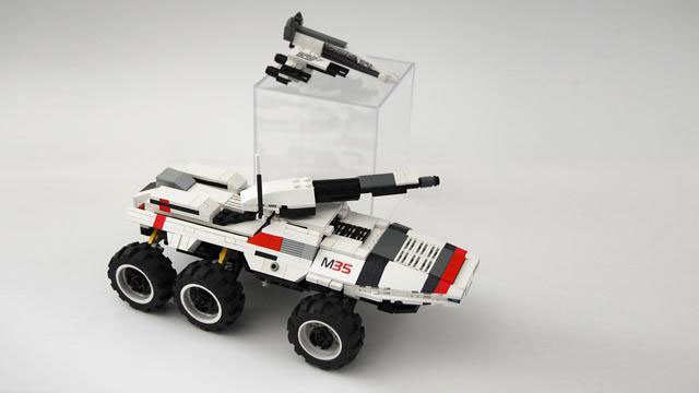 Click here to read <em>Mass Effect's</em> LEGO Mako Looks Easier to Drive