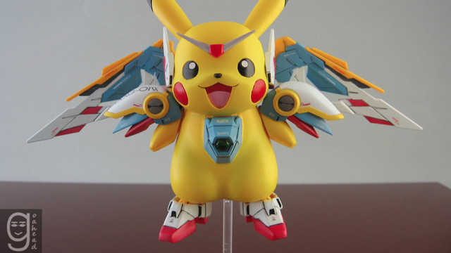 Click here to read Pikachu Meets Gundam Meets Holy Crap