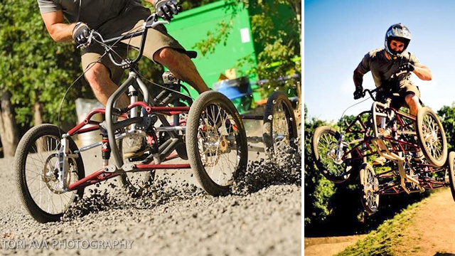BMX Quad Racer Is Another Fun Way To Break Your Neck