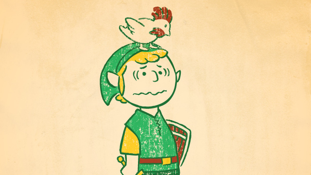 Click here to read Charlie Brown as the Hero of Hyrule? Good Grief!