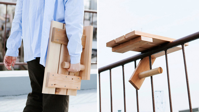Tiny Table Turns Your Fire Escape Into a Luxurious Patio