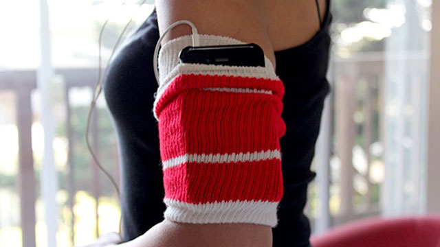Click here to read Repurpose a Tube Sock as an MP3 Player-Holding Exercise Armband