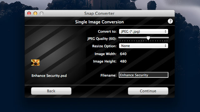 Snap Converter Is a Fast, Simple, Drag-and-Drop Image Converter