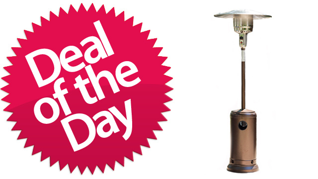 This Outdoor Heater Is Your Bring-The-Pub-Patio-Home Deal of the Day