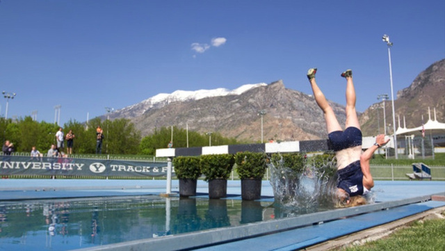 BYU Runner's Epic Steeplechase Fail Is Even Funnier In A Frame-By-Frame Photo Gallery